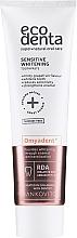 Parfüm, Parfüméria, kozmetikum Fehérítő fogkrém érzékeny fogakra, fluoridmentes - Ecodenta Sensitive Whitening Toothpaste