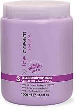 Parfüm, Parfüméria, kozmetikum Maszk száraz és sérült hajra - Inebrya Ice Cream SheCare Reconstructor Mask