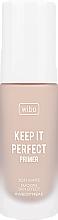 Parfüm, Parfüméria, kozmetikum Alapozó-primer - Wibo Keep It Perfect Soft Matte