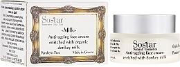Parfüm, Parfüméria, kozmetikum Anti age arckrém - Sostar Anti-ageing Face Cream Enriched With Donkey Milk