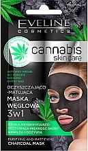 Parfüm, Parfüméria, kozmetikum Arcmaszk - Eveline Cosmetics Cannabis Mask