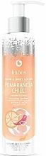 """Parfüm, Parfüméria, kozmetikum Kéz és test balzsam """"Narancs és chilipaprika"""" - Kabos Wild Orange & Chilli Hand & Body Lotion"""