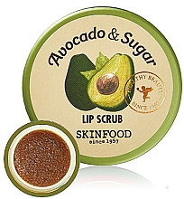 Parfüm, Parfüméria, kozmetikum Ajakpeeling - Skinfood Avocado and Sugar Lip Scrub