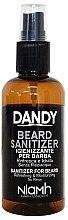 Parfüm, Parfüméria, kozmetikum Szakáll és bajuszfertőtlenítő spray - Niamh Hairconcept Dandy Beard Sanitizer Refreshing & Moisturizing