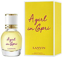 Parfüm, Parfüméria, kozmetikum Lanvin A Girl in Capri - Eau De Toilette (mini)