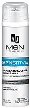 Parfüm, Parfüméria, kozmetikum Borotvahab - AA Men Sensitive Moisturizing Shaving Foam