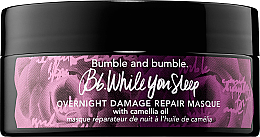 Parfüm, Parfüméria, kozmetikum Éjszakai helyreállító hajmaszk - Bumble and bumble While You Sleep Overnight Damage Repair Masque