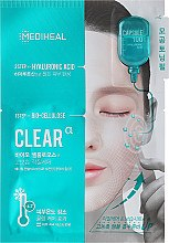 Parfüm, Parfüméria, kozmetikum Biocellulóz maszk hialuronsavval - Mediheal Capsule 100 Bio Seconderm Clear Alpha 2 Step Face Mask