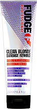 Parfüm, Parfüméria, kozmetikum Tonizáló hajkondicionáló - Fudge Clean Blonde Damage Rewind Conditioner