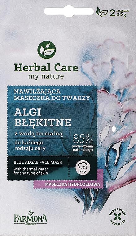 """Kék alga"" arcmaszk - Farmona Herbal Care Blue Algae Face Mask"
