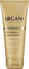 Parfüm, Parfüméria, kozmetikum Maszk száraz és sérült hajra - Argan + Nourishing 5-Oil Intensive Treatment Mask