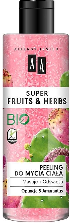 """Testradír """"Fügekaktusz és amaránt"""" - AA Super Fruits & Herbs"""