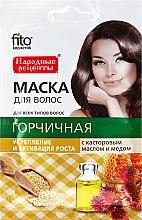 """Parfüm, Parfüméria, kozmetikum """"Mustár, ricinus olajjal és méz"""" hajmaszk - Fito Kozmetikum"""