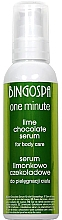 Parfüm, Parfüméria, kozmetikum Testápoló szérum csokoládé, lime - BingoSpa