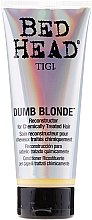 Parfüm, Parfüméria, kozmetikum Kondicionáló sérült hajra - Tigi Bed Head Colour Combat Dumb Blonde Conditioner