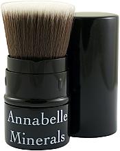 Parfüm, Parfüméria, kozmetikum Kihúzható ecset, púder, pirosító, bronzosító - Annabelle Minerals Flat Top