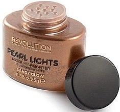 Parfüm, Parfüméria, kozmetikum Highlighter arcra omlós - Makeup Revolution Pearl Lights Loose Highlighter