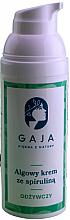 Parfüm, Parfüméria, kozmetikum Tápláló arckrém spirulinával - Gaja