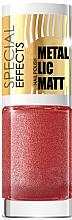 Parfüm, Parfüméria, kozmetikum Körömlakk - Eveline Cosmetics Special Effects Metallic Matt