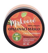 Parfüm, Parfüméria, kozmetikum Napvédő krém - Vivaco Bio Carrot Suntan Butter SPF 6