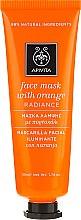 "Parfüm, Parfüméria, kozmetikum Arcmaszk naranccsal ""Ragyogás"" - Apivita Radiance Face Mask with Orange"