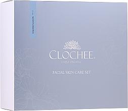 Parfüm, Parfüméria, kozmetikum Szett - Clochee Facial Skin Care Moisturising Set (ser/30ml + eye/cr/15ml + candle)