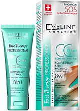 Parfüm, Parfüméria, kozmetikum CC krém nyugtató és feszesítő - Eveline Cosmetics Therapy