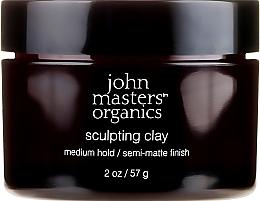 Parfüm, Parfüméria, kozmetikum Modellező agyag mattító hatással - John Masters Organics Sculpting Clay Medium Hold Matte Finish