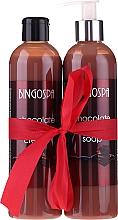 Parfüm, Parfüméria, kozmetikum Szett - BingoSpa Chocolate (sh/gel/300ml + soap/300ml)