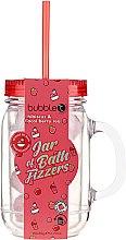 """Parfüm, Parfüméria, kozmetikum Fürdőgolyó üvegben """"Hibiszkusz és acai bogyó"""" - Bubble T Bath Fizzers In Reusable Jar Hibiscus & Acai Berry"""