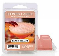 Parfüm, Parfüméria, kozmetikum Aroma viasz - Country Candle Peach Bellini Wax Melts