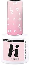 Parfüm, Parfüméria, kozmetikum Fedőréteg körömre - Hi Hybrid Pastel Base