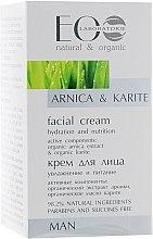 Parfüm, Parfüméria, kozmetikum Hidratáló és tápláló arckrém árnika kivonattal - ECO Laboratorie Man Moisturizing And Nourishing Facial Cream