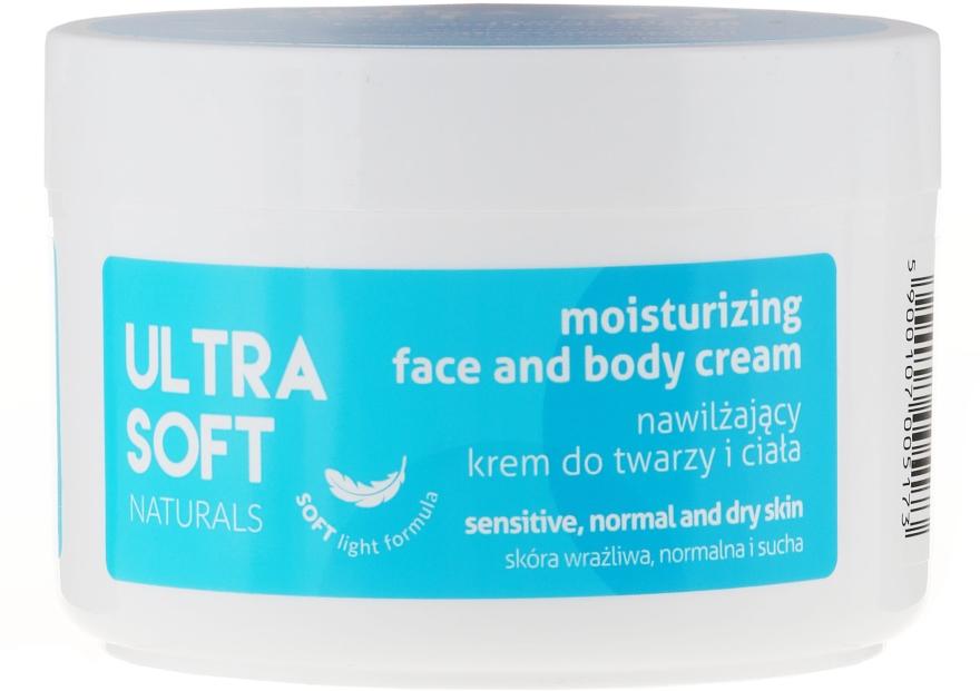 Hidratáló arc és testápoló krém - Ultra Soft Naturals Moisturising Face and Body Cream
