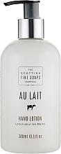 Parfüm, Parfüméria, kozmetikum Kézápoló lotion - Scottish Fine Soaps Au Lait Hand Lotion