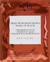 Parfüm, Parfüméria, kozmetikum Antia age szövetmaszk - APIS Professional Anti-Aging Anti-Wrinkle Sheet Mask