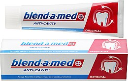 "Parfüm, Parfüméria, kozmetikum Fogkrém ""Fogszuvasodás ellen"" - Blend-a-med Anti-Cavity Original Toothpaste"