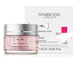 Parfüm, Parfüméria, kozmetikum Cukor alapú ajakradír - Symbiosis London Revitalising Sugar Lip Scrub