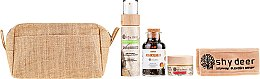 Parfüm, Parfüméria, kozmetikum Készlet kombinált és zsíros bőrre - Shy Deer (mask/50ml + peel/100ml + tea/90g + headband + bag)