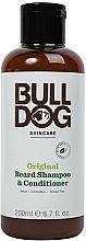 Parfüm, Parfüméria, kozmetikum Sampon-kondicionáló szakállra - Bulldog Skincare Beard Shampoo and Conditioner