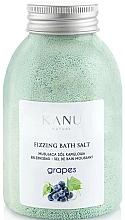 "Parfüm, Parfüméria, kozmetikum Pezsgő fürdősó ""Szőlő"" - Kanu Nature Grapes Fizzing Bath Salt"