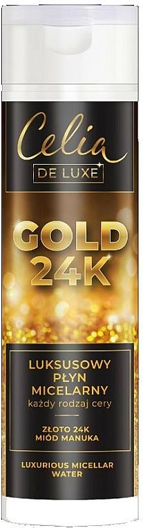 Fényűző micellás víz - Celia De Luxe Gold 24k