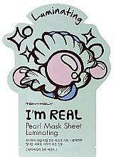 Parfüm, Parfüméria, kozmetikum Anyagmaszk arcra - Tony Moly I'm Real Peral Luminating Sheet Mask