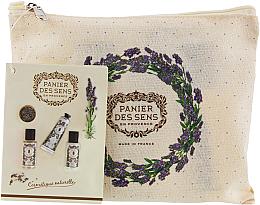 Parfüm, Parfüméria, kozmetikum Készlet - Panier des Sens Travel set Relaxing Lavender (h/cr/30ml + sh/gel/50ml + b/lot/50ml)