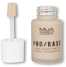 Parfüm, Parfüméria, kozmetikum Alapozó - MUA Pro Base Long Wear Matte Finish Foundation