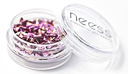 Parfüm, Parfüméria, kozmetikum Körömlakk csillámok, háromszögek - Neess Blink Effect Jet Decoration