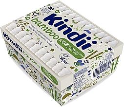 Parfüm, Parfüméria, kozmetikum Fültisztító pálcika csecsemők és gyerekek számára - Kindii Bamboo Cotton Buds