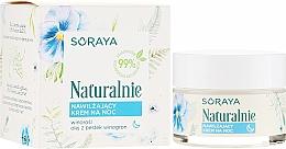 Parfüm, Parfüméria, kozmetikum Hidratáló arckrém - Soraya Naturalnie Night Cream
