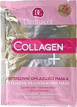 Parfüm, Parfüméria, kozmetikum Intenzív bőrfiatalító arcpakolás - Dermacol Collagen+ Intensive Rejuvenating Mask