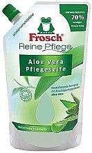 """Parfüm, Parfüméria, kozmetikum Folyékony szappan """"Aloe vera"""" - Frosch Pure Care Liquid Soap (utántöltő)"""